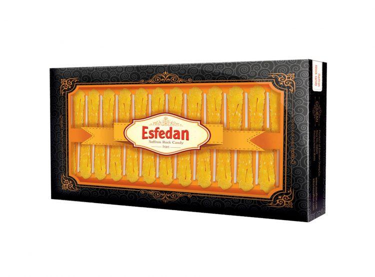24 sticks saffron rock candy