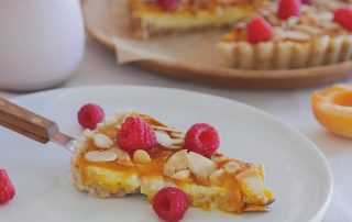 How to make Almond Cake with Saffron