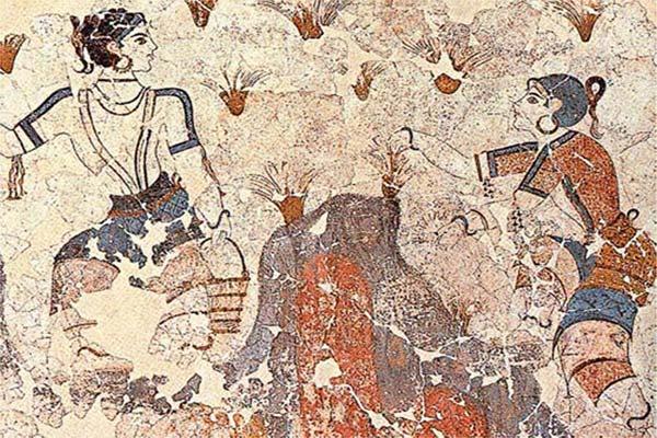 The History of Saffron on Fresco