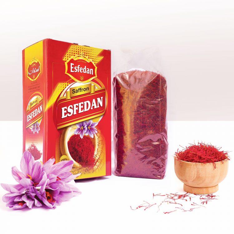 ESFEDAN 1 kg Azafrán Granel Pushali seleccionados Grado A